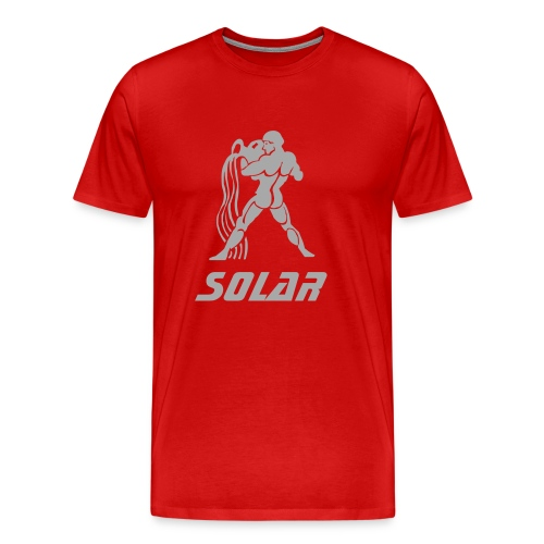 Solar - Age of Aquarius (Metalic Sparkle) Tee - Men's Premium T-Shirt