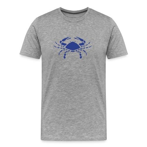 Heavyweight Cotton T-Shirt (Cancer Print) - Men's Premium T-Shirt