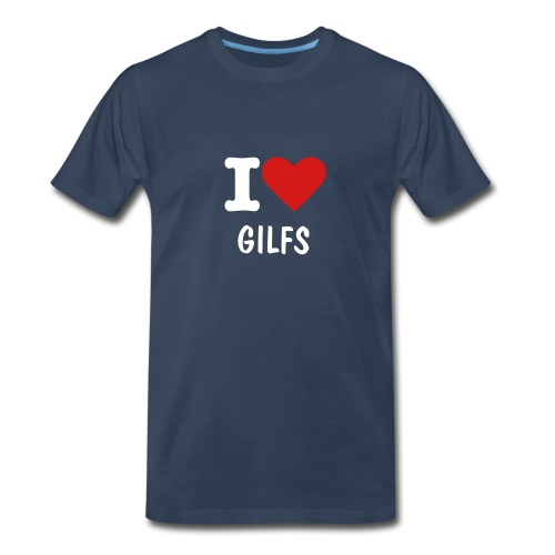 I love gilfs (Mens) - Men's Premium T-Shirt