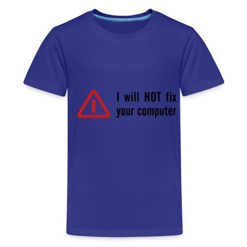 Computer Nerd T-shirt 2 - Kids' Premium T-Shirt