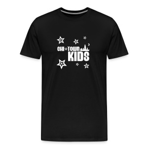 White & Black Stars Tshirt - Men's Premium T-Shirt