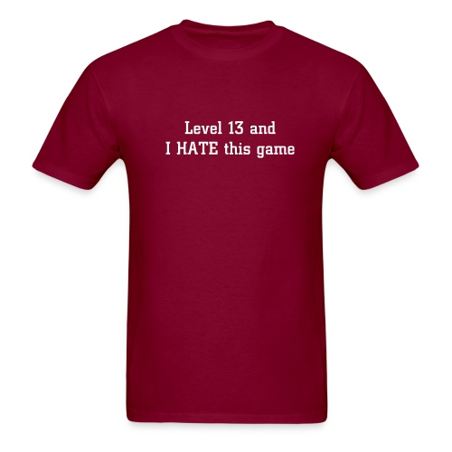 I Hate This Game - Men's T-Shirt