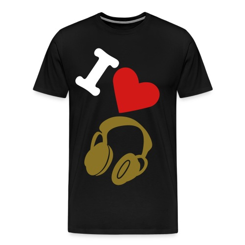 I LUV - Men's Premium T-Shirt