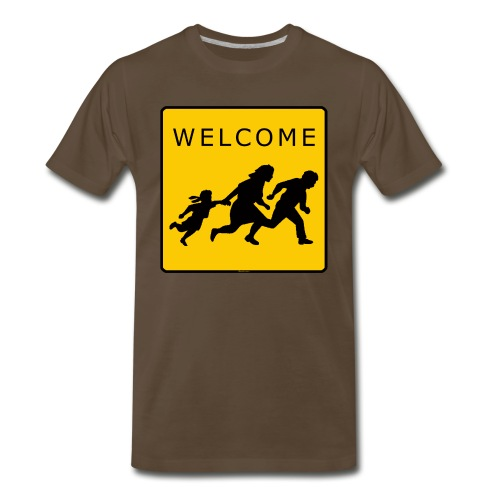 Welcome T - Men's Premium T-Shirt