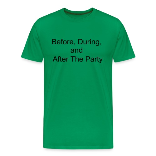Party Shirt - Men's Premium T-Shirt