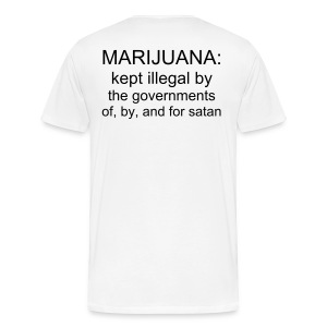 THE HERB VS. SATAN - Men's Premium T-Shirt