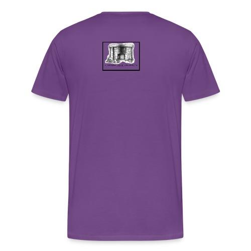 Save Chumley's: Men's Purple T - Men's Premium T-Shirt