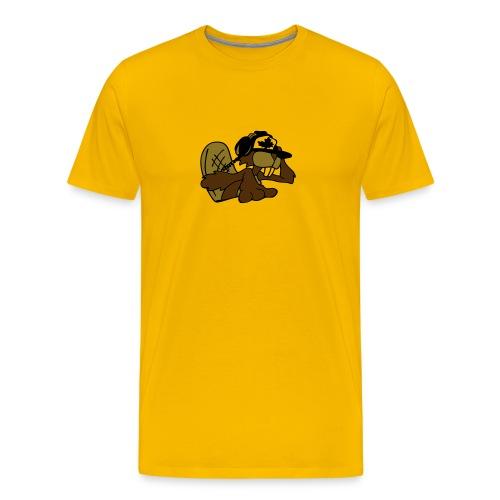 Beaver DJ - Men's Premium T-Shirt