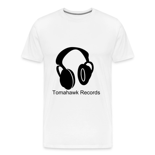 TOMAHAWK RECORDS TEE 1 - Men's Premium T-Shirt