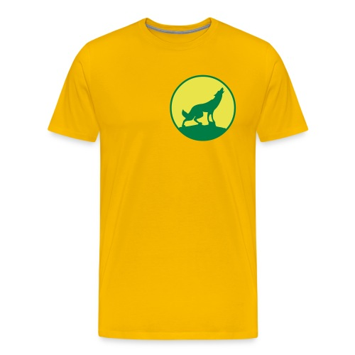 Yellow kayote t-shirt - Men's Premium T-Shirt