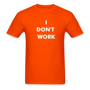 Orange T-Shirt - Men's T-Shirt
