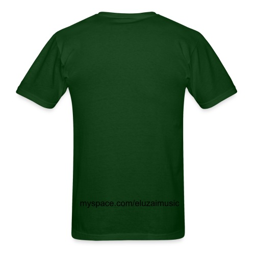 God is my strength Forest Green - Men's T-Shirt