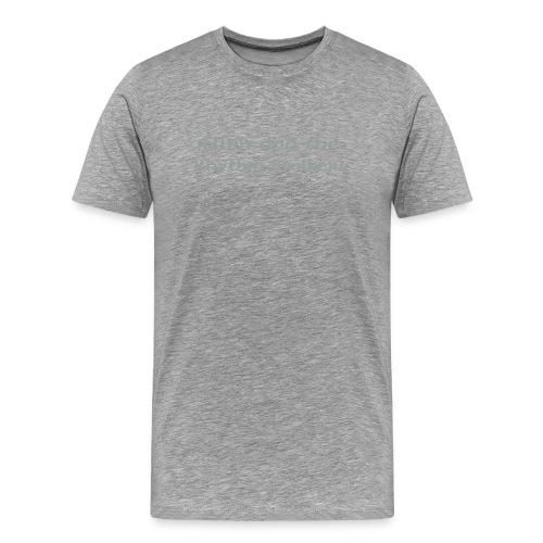 The Heavyweight T - Ellen and the Rhythm Stalkers - Men's Premium T-Shirt
