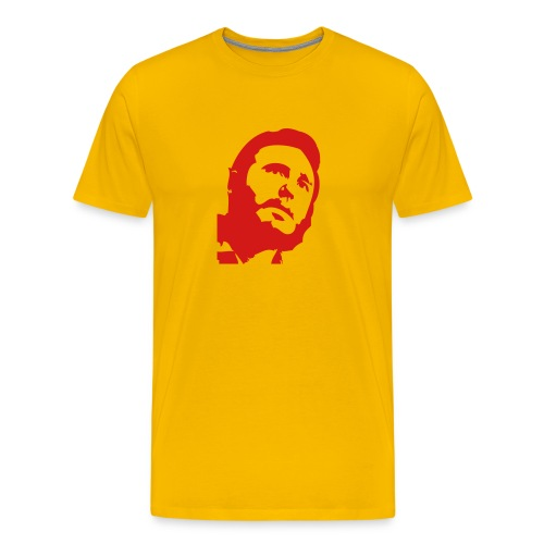 Yellow Fidel - Men's Premium T-Shirt
