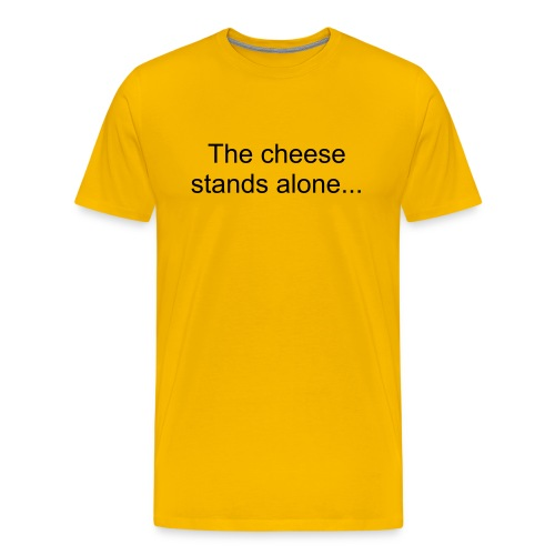 cheese tee - Men's Premium T-Shirt