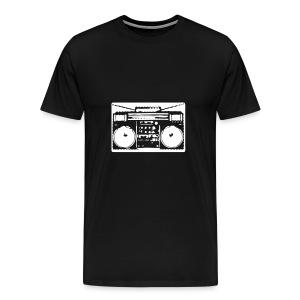Old School Blaster (Black) - Men's Premium T-Shirt