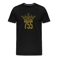 T-Shirts ~ Men's Premium T-Shirt ~ Metallic Gold King