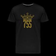 T-Shirts ~ Men's Premium T-Shirt ~ Metallic Gold King