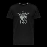 T-Shirts ~ Men's Premium T-Shirt ~ Black Home Run King