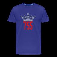 T-Shirts ~ Men's Premium T-Shirt ~ Blue Home Run King