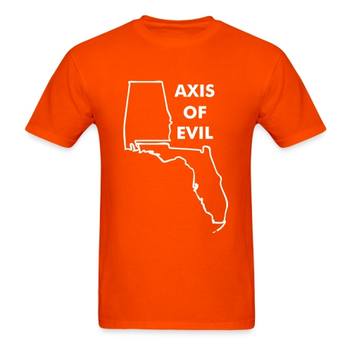 Axis of Evil (front) - Men's T-Shirt