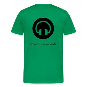 Olive Drive Records - Men's Premium T-Shirt