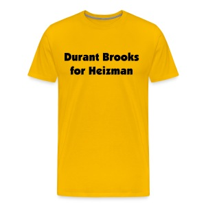Durant for Heizman - Men's Premium T-Shirt