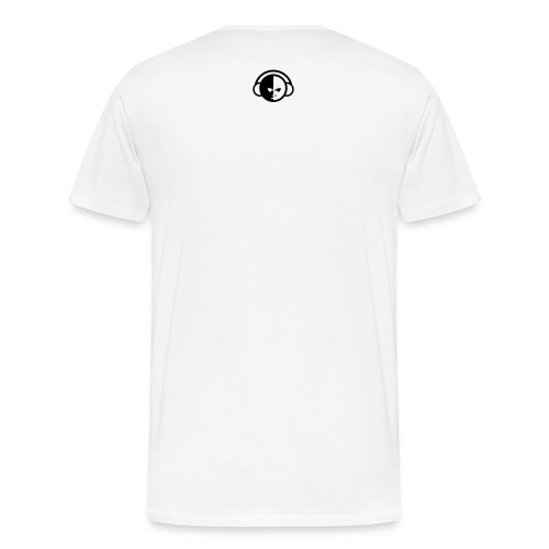 www.biglohiphop.com Men's T-Shirt (White/Black) - Men's Premium T-Shirt