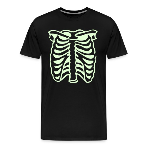 Ribcage Glow tee - Men's Premium T-Shirt