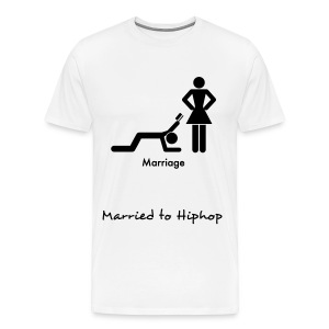 Married to Hiphop - Men's Premium T-Shirt