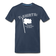 T-Shirts ~ Men's Premium T-Shirt ~ Insincere for dudes