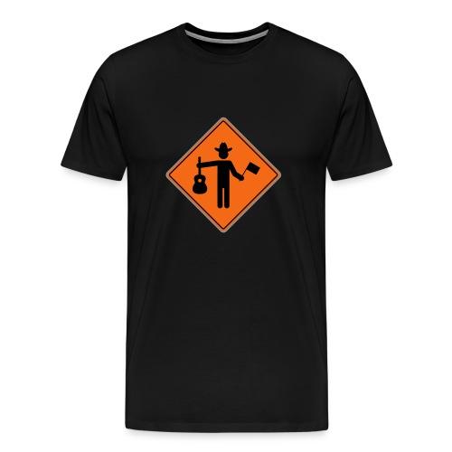 Signaleur - T-shirt premium pour hommes