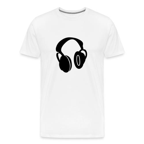 HEADPHONES_REAL - Men's Premium T-Shirt