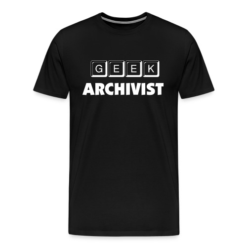 Geek Archivist - Men's Premium T-Shirt