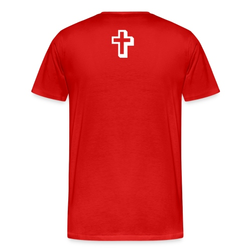 3X Mens Covered by the Blood - Men's Premium T-Shirt