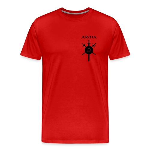 Men's XXXL Official Uniform Logo T-Shirt - Men's Premium T-Shirt