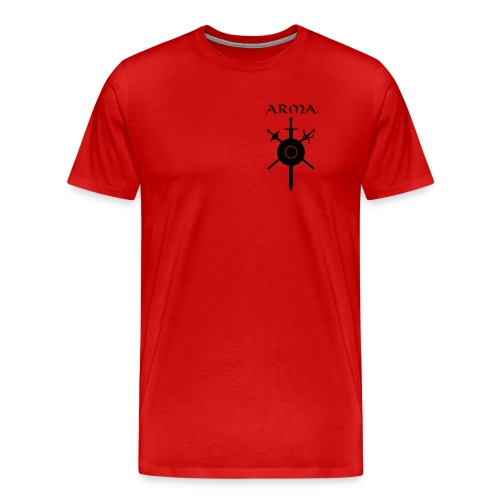 Official Member's Uniform Logo-Red-Shirt - Men's Premium T-Shirt