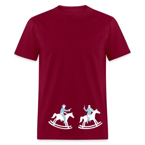 cowboys and injuns tee - Men's T-Shirt