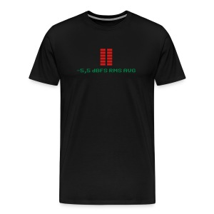 -5,5 dBFS RMS AVG - Men's Premium T-Shirt