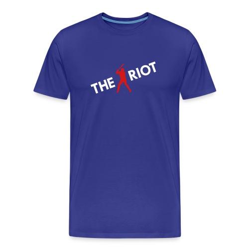 THE RIOT v2 (royal) - Men's Premium T-Shirt