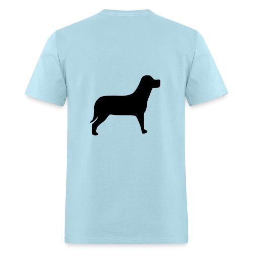 Classic Light Blue Help a Horse Supporter T-Shirt - Men's T-Shirt