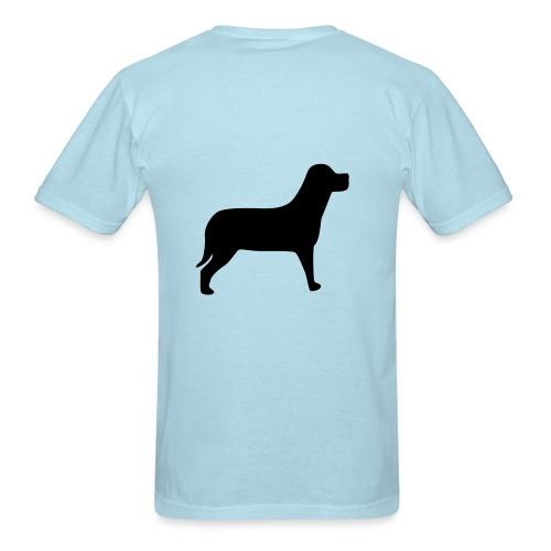 Classic Light Blue Help a Horse Supporter T-Shirt - Men's T-Shirt