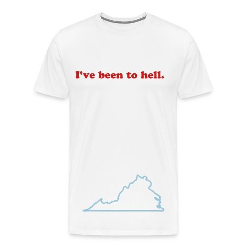 The hell you know so well - Men's Premium T-Shirt