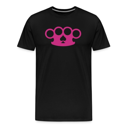 Brass knuckles & spades - Men's Premium T-Shirt