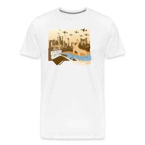 The Streets - Men's Premium T-Shirt