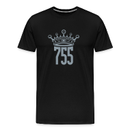 T-Shirts ~ Men's Premium T-Shirt ~ Metallic SIlver King