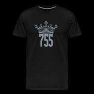 T-Shirts ~ Men's Premium T-Shirt ~ Metallic SIlver King