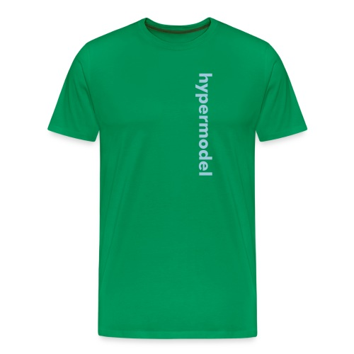 hypermodel text - Men's Premium T-Shirt