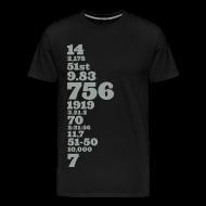 T-Shirts ~ Men's Premium T-Shirt ~ Barry Bonds Tainted Love TShirt