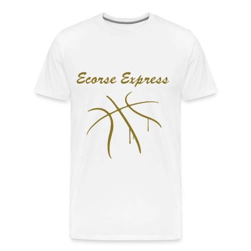 Ecorse Shirt wht - Men's Premium T-Shirt